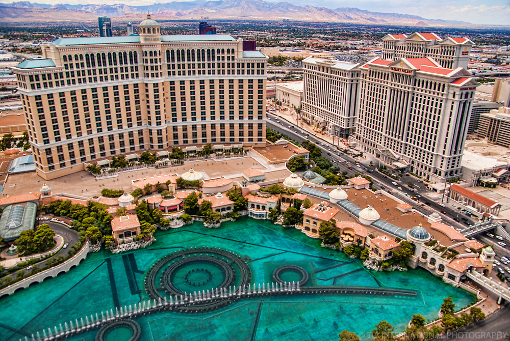 The Bellagio & Caesar's Palace Hotels