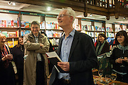 WILLIAM FITZGERALD, William Fitzgerald, Book launch ,  'How to read a Latin poem - if you can't read Latin yet' published by OUP.- Daunts bookshop Marylebone, London 21 February 2013.
