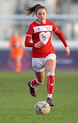 Ella Rutherford of Bristol City in action- Mandatory by-line: Nizaam Jones/JMP - 27/01/2019 - FOOTBALL - Stoke Gifford Stadium - Bristol, England - Bristol City Women v Yeovil Town Ladies- FA Women's Super League 1