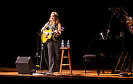 Susan Werner performs at the CSPS Hall Grand Re-opening in Cedar Rapids on Friday evening, August 26, 2011. About 190 people attended the event.