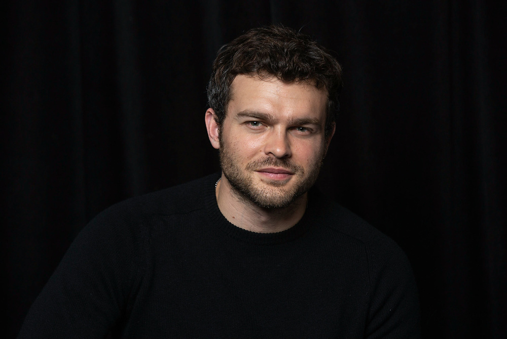 "Alden Ehrenreich poses for a portrait at the ""Solo: A Star Wars Story"" Portrait Session on Saturday, May 12, 2018, in Pasadena, CA. (Photo by Willy Sanjuan/Invision/AP)"