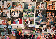 Photos of Barb Leary at her family's home in Greece, New York on Monday, October 20, 2014. Mrs. Leary died of cancer last year, four years after having surgery that involved a morcellator, and her family pulled together photos to display at her funeral service. CREDIT: Mike Bradley for the Wall Street Journal<br /> ROBOT