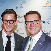 NLD/Den Bosch/20141123- Premiere Musical The Sound of Music, Jeroen Jorna en Albert Verlinde