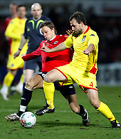 Photo: Richard Lane/Richard Lane Photography. <br /> Wales v Norway. Nationwide International. 06/02/2008.