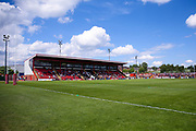 Stadium shot during the Kingstone Press Championship match between Dewsbury Rams and Bradford Bulls at the Tetley's Stadium, Dewsbury, United Kingdom on 4 June 2017. Photo by Simon Davies.