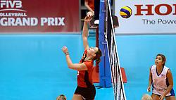 10-08-2014 NED: FIVB Grand Prix Belgie - Puerto Rico, Doetinchem<br /> Freya Aelbrecht