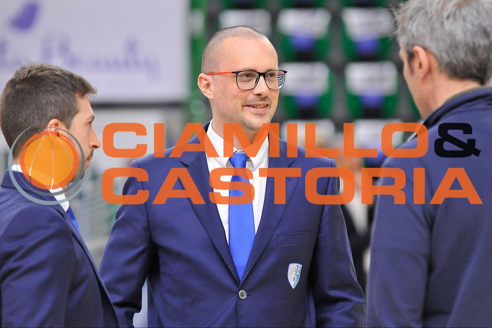 Massimo Maffezzoli<br /> Banco di Sardegna Dinamo Sassari - Enel New Basket Brindisi<br /> LegaBasket Serie A LBA Poste Mobile 2016/2017<br /> Sassari 02/04/2017<br /> Foto Ciamillo-Castoria