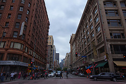 Street in downtown Los Angeles, USA (Credit Image: © Image Source/David Jakle/Image Source/ZUMAPRESS.com)
