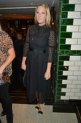 ALICE NAYLOR-LEYLAND at a party to celebrate the publication of Honestly Healthy Cleanse by Natasha Corrett held at Tredwell's Restaurant, 4a Upper St.Martin's Lane, London on 14th January 2015.