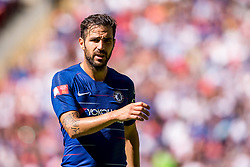 August 5, 2018 - Cesc Fabregas of Chelsea during the 2018 FA Community Shield match between Chelsea and Manchester City at Wembley Stadium, London, England on 5 August 2018. (Credit Image: © AFP7 via ZUMA Wire)