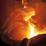 Acierie Cockerill-Sambre / ArcelorMittal, Liege, Belgique // Steel factory Cockerill-Sambre / ArcelorMittal, Liège, Belgium.