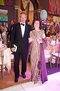 ROBERT WALEY-COHEN; FELICITY WALEY-COHEN, Triennial Summer Ball, Royal Academy. Piccadilly. London. 20 June 2011. <br /> <br />  , -DO NOT ARCHIVE-© Copyright Photograph by Dafydd Jones. 248 Clapham Rd. London SW9 0PZ. Tel 0207 820 0771. www.dafjones.com.
