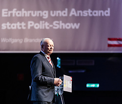 07.04.2016, Congress, Innsbruck, AUT, Wahlkampfauftakt Andreas Khol zur Präsidentschaftswahl 2016, im Bild Praesidentschaftskandidat Andreas Khol (OeVP) // Candidate for Presidential Elections Andreas Khol (OeVP) during campaign opening according to the austrian presidential elections at the Congress in Innsbruck, Austria on 2016/04/07. EXPA Pictures © 2016, PhotoCredit: EXPA/ Johann Groder