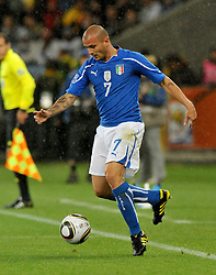 Football - soccer: FIFA World Cup South Africa 2010, Italy (ITA) - Paraguay (PRY), SIMONE PEPE