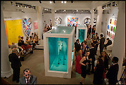 DAMIEN HIRST; DASHA ZHUKOVA, Damien Hirst party to preview his exhibition at Sotheby's. New Bond St. London. 12 September 2008 *** Local Caption *** -DO NOT ARCHIVE-&copy; Copyright Photograph by Dafydd Jones. 248 Clapham Rd. London SW9 0PZ. Tel 0207 820 0771. www.dafjones.com.<br /> DAMIEN HIRST; DASHA ZHUKOVA, Damien Hirst party to preview his exhibition at Sotheby's. New Bond St. London. 12 September 2008