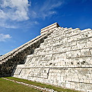 El Castillo (also known as Temple of Kuklcan) at the ancient Mayan ruins at Chichen Itza, Yucatan, Mexico 081216092732_1921x.tif