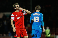 David Mooney of Leyton Orient after the Sky Bet League 1 match at the Matchroom Stadium, London<br /> Picture by David Horn/Focus Images Ltd +44 7545 970036<br /> 22/11/2014
