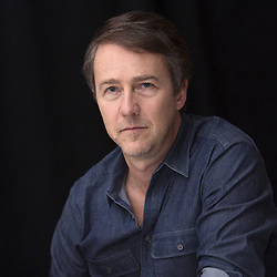 December 3, 2016 - New York, New York, U.S. - EDWARD NORTON promotes the movie 'Collateral Beauty.' Edward Harrison Norton (born August 18, 1969) is an American actor, filmmaker and activist. He has been nominated for three Academy Awards for his work in the films Primal Fear (1996), American History X (1998) and Birdman (2014). He also starred in other roles, such as Everyone Says I Love You (1996), The People vs. Larry Flynt (1996), Fight Club (1999), Red Dragon (2002), 25th Hour (2002), Kingdom of Heaven (2005), The Illusionist (2006), Moonrise Kingdom (2012) and The Grand Budapest Hotel (2014). He has also directed and co-written films, including his directorial debut, Keeping the Faith (2000). He has done uncredited work on the scripts for The Score (2001), Frida (2002), and The Incredible Hulk (2008). Upcoming: Untitled Wes Anderson Project (2018, voice), Collateral Beauty (2016). (Credit Image: © Armando Gallo via ZUMA Studio)