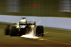 September 14, 2018 - Singapore, Singapore - Motorsports: FIA Formula One World Championship 2018, Grand Prix of Singapore, .#18 Lance Stroll (CAN, Williams Martini Racing) (Credit Image: © Hoch Zwei via ZUMA Wire)