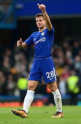 Cesar Azpilicueta of Chelsea - Mandatory by-line: Alex James/JMP - 02/12/2017 - FOOTBALL - Stamford Bridge - London, England - Chelsea v Newcastle United - Premier League
