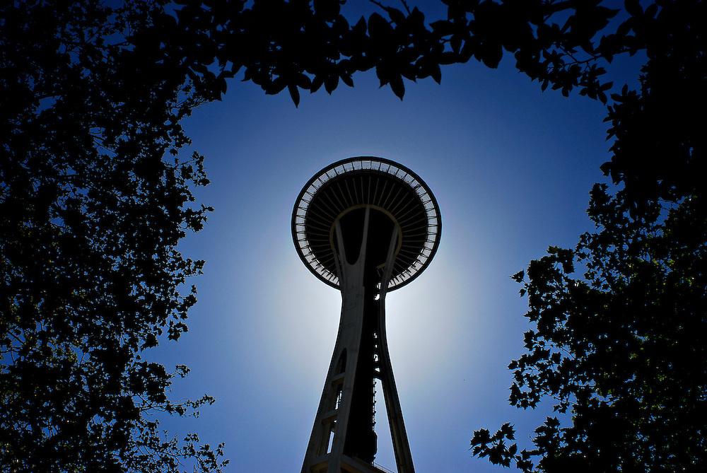 SEATTLE, WA - 24/05/09 - The Space Needle in Seattle, Washington. Photo by Daniel Hayduk