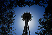 SEATTLE, WA - 24/05/09 - The Space Needle in Seattle, Washington. Photo by Daniel Hayduk