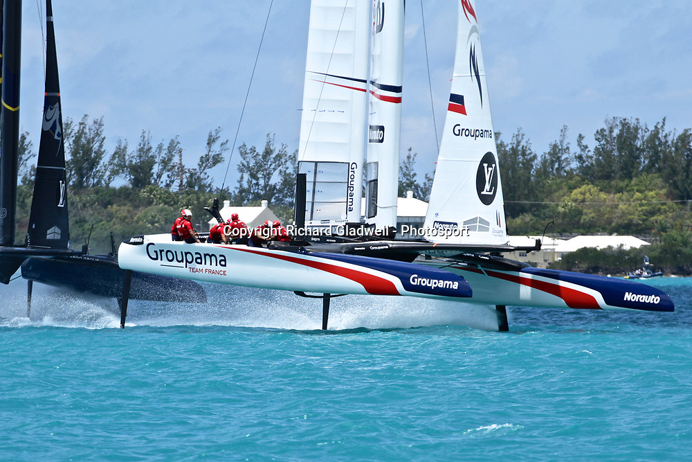 Race 8 - Land Rover BAR  - 35th America's Cup - Bermuda  May 27, 2017 . Copyright Image: Richard Gladwell / Sail World / www.photosport.nz