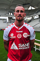 Gaetan Courtet - 21.10.2014 - Photo officielle Reims - Ligue 1 2014/2015<br /> Photo : Philippe Le Brech / Icon Sport