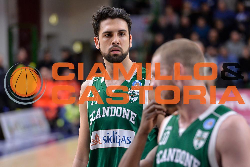 DESCRIZIONE : Beko Legabasket Serie A 2015- 2016 Dinamo Banco di Sardegna Sassari - Sidigas Scandone Avellino<br /> GIOCATORE : Riccardo Cervi<br /> CATEGORIA : Ritratto<br /> SQUADRA : Sidigas Scandone Avellino<br /> EVENTO : Beko Legabasket Serie A 2015-2016<br /> GARA : Dinamo Banco di Sardegna Sassari - Sidigas Scandone Avellino<br /> DATA : 28/02/2016<br /> SPORT : Pallacanestro <br /> AUTORE : Agenzia Ciamillo-Castoria/L.Canu