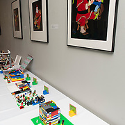 Children and adults always enjoy the Lego Contest at Christmasville in Old Town.