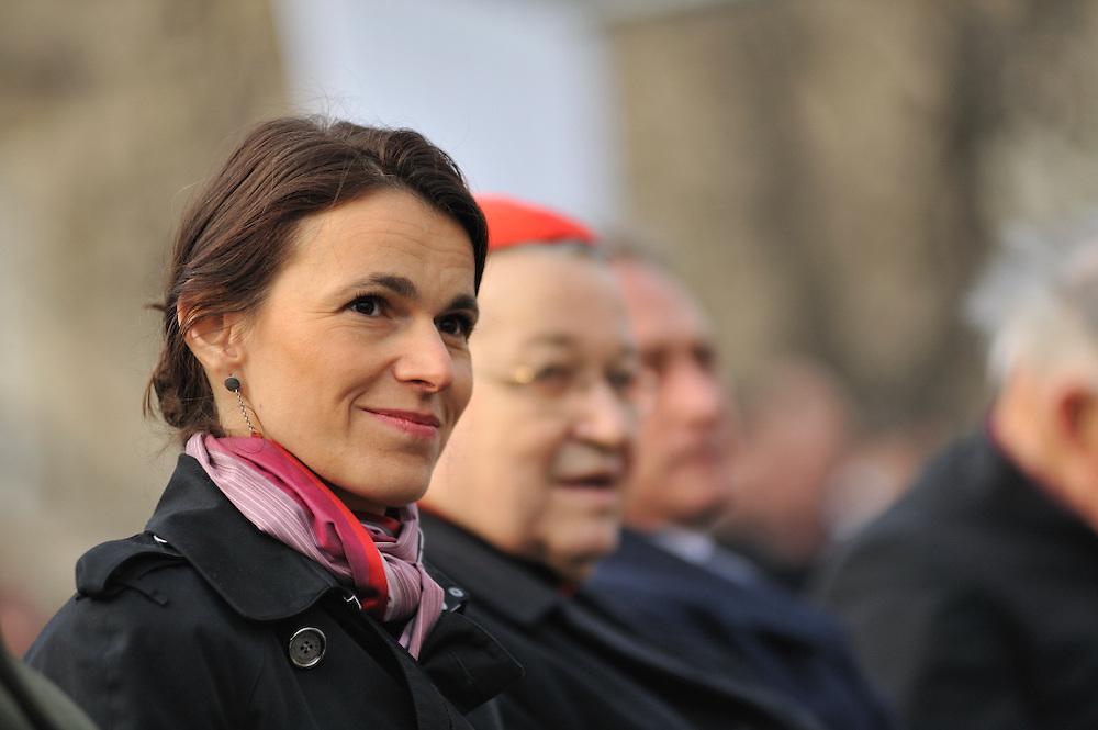 Mars 2013: Aurélie Filippetti, ministre de la Culture et de la Communication. Paris (75), France