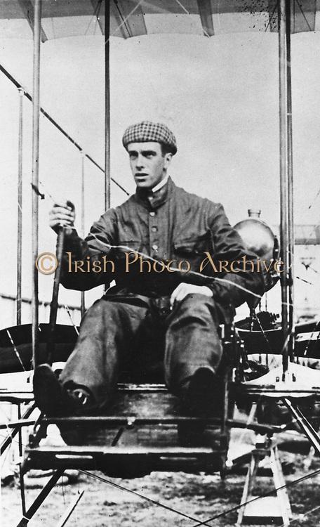 Graham White,  British pioneer aviator, c1910.