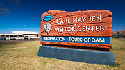 Carl Hayden Visitor Center at Glen Canyon Dam, Glen Canyon National Recreation Area, Page, Arizona USA