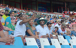 Pretoria 26-12-18. The 1st of three 5 day cricket Tests, South Africa vs Pakistan at SuperSport Park, Centurion. Day 1. Afternoon session.Fans take a selfie. <br /> Picture: Karen Sandison/African News Agency(ANA)