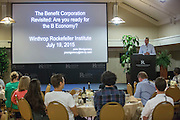 Saturday at Winthrop Rockefeller Institute during the Social Entrepreneurship workshop on Petit Jean Mountain