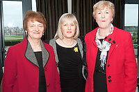Something to sing about singers  Mary Burke, Una Cahill and Geraldine Gilchreest who took part in the Choir Factor 2014 in the Radisson blu Hotel, Galway in aid of SCCUL Sanctuary at Kilcuan, Clarinbridge . Photo:Andrew Downes.