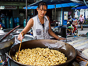 28 MAY 2018 - BANGKOK, THAILAND: in Phra Khanong Market in Bangkok. The market serves a mix of Thai working class people and immigrants from Myanmar (Burma).      PHOTO BY JACK KURTZ