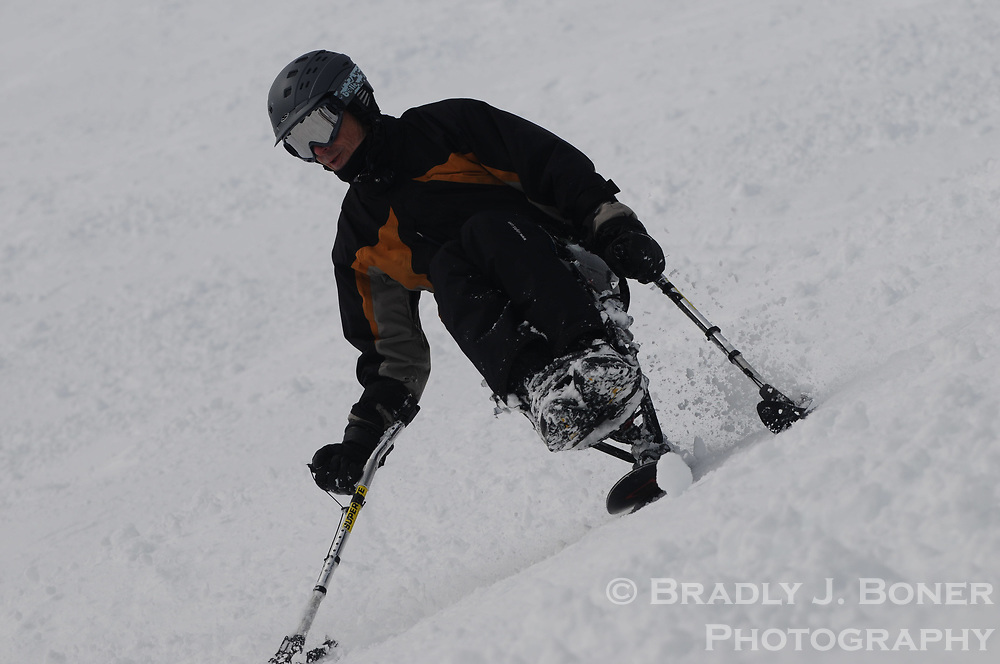 Adaptive skiing steep and deep camp at JHMR