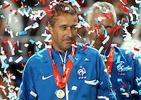 Victoire France - Jean Claude Giuntini - 22.05.2015 - Allemagne / France - Finale Championnats d'Europe U17 - Burgas -Bulgarie<br />Photo : Aleksandar Djorovic / Icon Sport