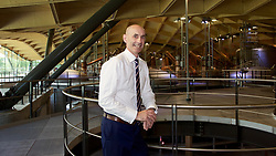 EMBARGOED: 00.01 TUE 22052018.  Ian Curle, chief executive of Edrington Group, owner of The Macallan, in the new distillery on the Easter Elchies Estate, Speyside. Pic copyright Terry Murden @edinburghelitemedia.  EMBARGOED: 00.01 TUE 22052018