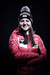 12.10.2019, Olympiahalle, Innsbruck, AUT, FIS Weltcup Ski Alpin, im Bild Elisabeth Raudaschl // during Outfitting of the Ski Austria Winter Collection and the official Austrian Ski Federation 2019/ 2020 Portrait Session at the Olympiahalle in Innsbruck, Austria on 2019/10/12. EXPA Pictures © 2020, PhotoCredit: EXPA/ JFK