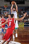 PORTO SAN GIORGIO 10 SETTEMBRE 2008<br /> BASKET QUALIFICAZIONI EUROPEI<br /> ITALIA-UNGHERIA<br /> NELLA FOTO MORDENTE<br /> FOTO CIAMILLO