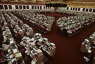 Hong Kong. parliament (LEGCO) and night, Central,   / La bourse de Hongkong  / R00073/    L940203  /  R00073  /  P0003617