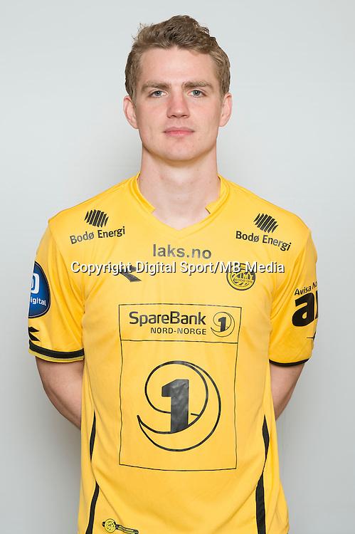 Fotball <br /> Portretter <br /> Tippeligaen<br /> 2015 <br /> Bod&oslash; Glimt<br /> Ruben Imingen<br /> Foto: Astrid M. Nordhaug