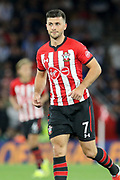 Southampton striker Shane Long (7) during the Premier League match between Southampton and Brighton and Hove Albion at the St Mary's Stadium, Southampton, England on 17 September 2018.