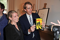 LAURA LOPES and BEN ELLIOT at a party to celebrate the 60th birthday of Mark Shand and the 50th birthday of Tara the elephant held at 29 Portland Place, London on 25th May 2011.