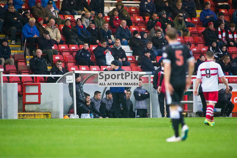 Gavin Price assistant manager of Elgin City in the Stirling Albion v Elgin City Forthbank 05 December 2015<br /> <br /> (c) Russell G Sneddon / SportPix.org.uk