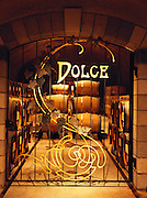 Dolce desert wine aging room in the Far Niente Winery caves in the Napa Valley, California.
