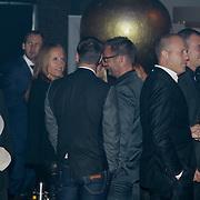 NLD/Amsterdam/20121013- LAF Fair 2012 VIP Night, Ronald de Boer en partner Suze van Rozelaar