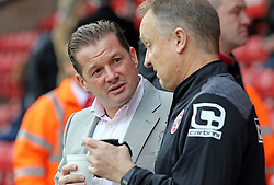 Peterborough United Manager Graham Westley talks with Walsall Manager Sean O'Driscoll before the game - Mandatory byline: Joe Dent/JMP - 07966 386802 - 28/12/2015 - FOOTBALL - Banks' Stadium - Walsall, England - Walsall v Peterborough United - Sky Bet League One